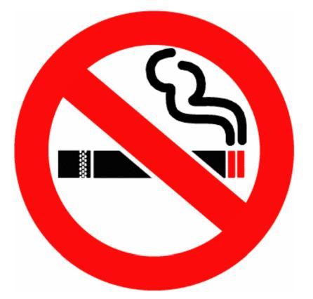 запрещено курение табачных изделий