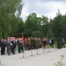 Митинг на мемориальном комплексе у д.Брицаловичи, посвященный 70-летию освобождения Осиповичского района от немецко-фашистских захватчиков